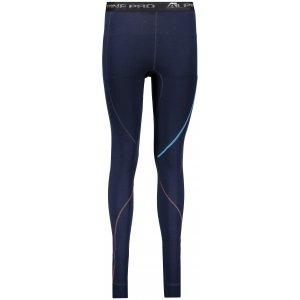 Dámské termo kalhoty ALPINE PRO GAZERA 2 LUNP048 TMAVĚ MODRÁ