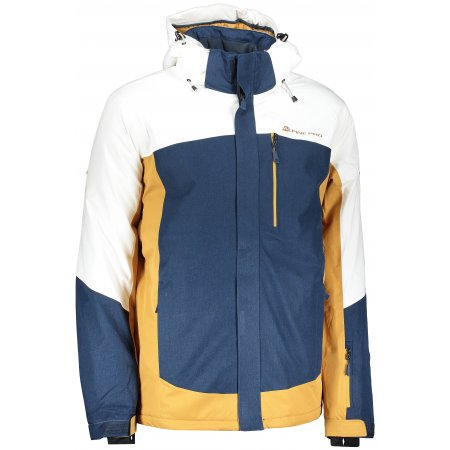 Pánská lyžařská bunda ALPINE PRO SARDAR 3 MJCP369 BÍLÁ