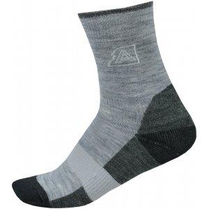 Dětské ponožky ALPINE PRO INDO KSCP016 SVĚTLE ŠEDÁ