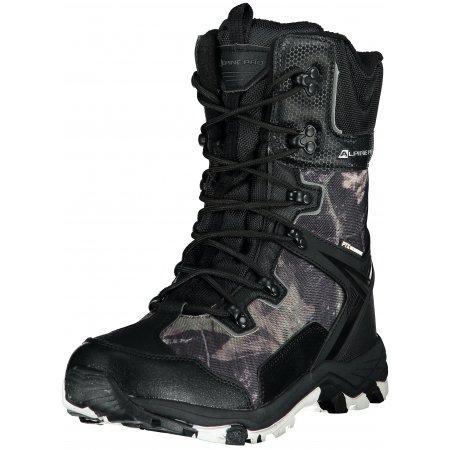 Pánské zimní boty ALPINE PRO NONDALTON MBTP182 ČERNÁ