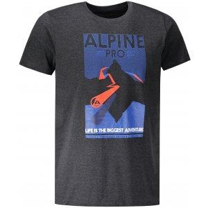 Pánské triko ALPINE PRO ABIC 7 MTSP404 ČERNÁ