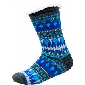 Ponožky ALPINE PRO SINNIR 3 USCP056 SVĚTLE MODRÁ