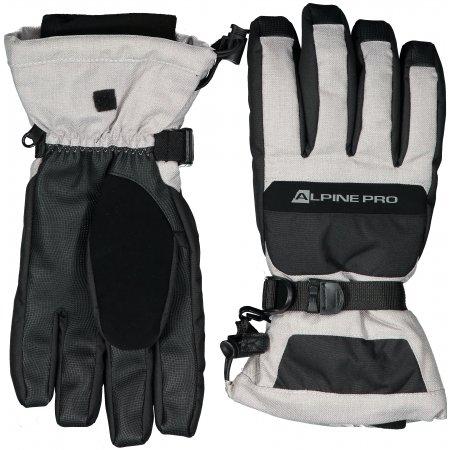 Zimní rukavice ALPINE PRO MIRON UGLP012 ŠEDÁ