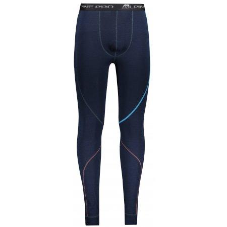 Pánské termo kalhoty ALPINE PRO GEZER 2 MUNP040 TMAVĚ MODRÁ