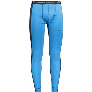 Pánské termo kalhoty ALPINE PRO TETHYS 2 MUNP045 SVĚTLE MODRÁ