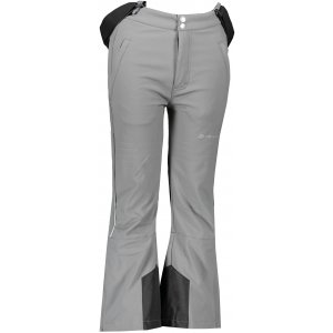 Dětské lyžařské kalhoty ALPINE PRO NEXO 2 KPAP169 SVĚTLE ŠEDÁ