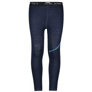 Dětské termo kalhoty ALPINE PRO GAZERO KUNP018 MODRÁ/MODRÁ