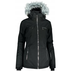 Dámská lyžařská bunda ALPINE PRO PRISA LJCP386 ČERNÁ