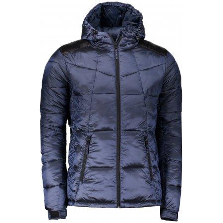 Pánská bunda ALPINE PRO KORT MJCP396 TMAVĚ MODRÁ