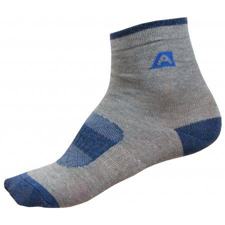 Dětské ponožky ALPINE PRO RAPID 2 KSCP010 MODRÁ