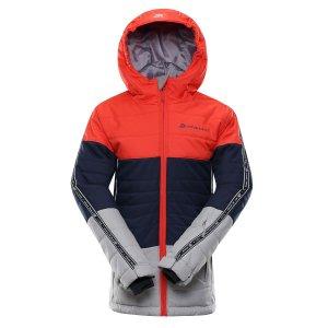 Dětská lyžařská bunda ALPINE PRO WIREMO 3 KJCP155 ORANŽOVÁ