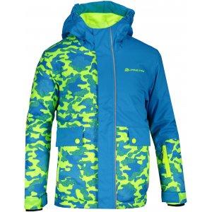 Dětská lyžařská bunda ALPINE PRO INTKO KJCP157 MODRÁ
