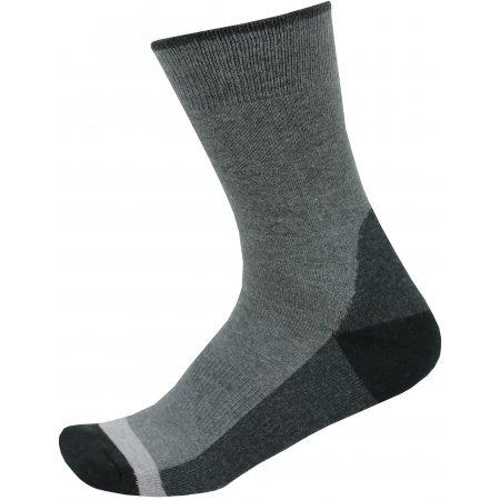 Ponožky ALPINE PRO TRIN USCP059 ČERNÁ
