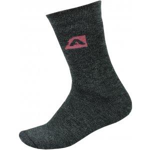 Ponožky ALPINE PRO OTHAR USCP058 TMAVĚ ŠEDÁ