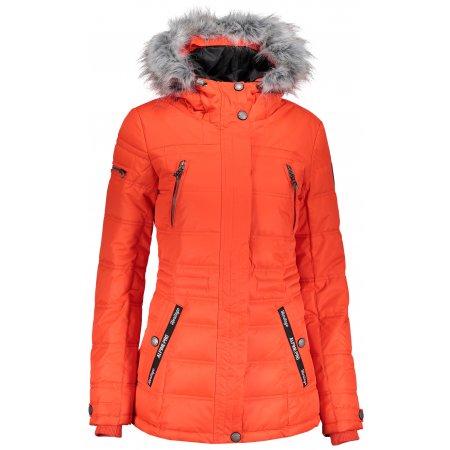 Dámská zimní bunda ALPINE PRO ICYBA 5 LJCP344 ORANŽOVÁ