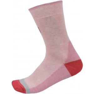 Ponožky ALPINE PRO TRIN USCP059 RŮŽOVÁ