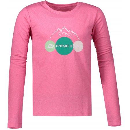 Dětské triko ALPINE PRO TEOFILO 8 KTSP200 RŮŽOVÁ