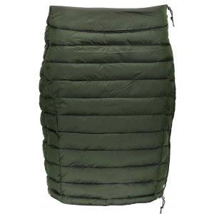 Dámská sukně ALPINE PRO BENA LSKP183 TMAVĚ ZELENÁ