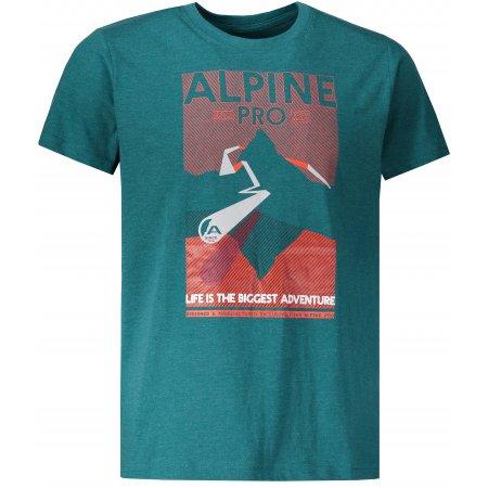 Pánské triko ALPINE PRO ABIC 7 MTSP404 ZELENÁ