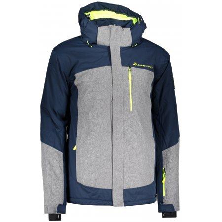 Pánská lyžařská bunda ALPINE PRO SARDAR 3 MJCP369 TMAVĚ MODRÁ