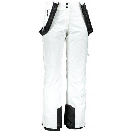 Dámské lyžařské kalhoty ALPINE PRO ANIKA LPAP361 BÍLÁ