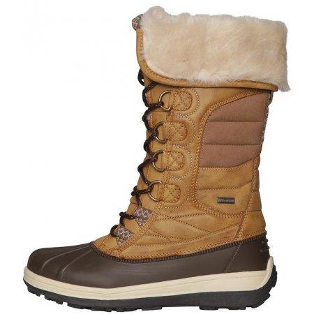 Dámské zimní boty ALPINE PRO NULATA LBTP217 BÉŽOVÁ