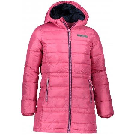 Dívčí kabát ALPINE PRO OMEGO 2 KCTP016 RŮŽOVÁ