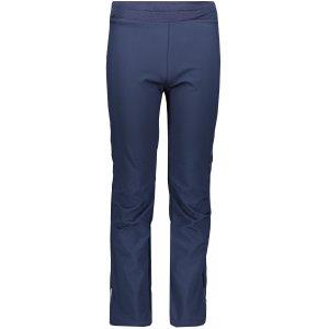 Dětské softshellové kalhoty ALPINE PRO OCIO INS. KPAP072 TMAVĚ MODRÁ