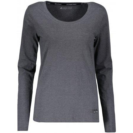 Dámské triko ALPINE PRO AMOSA LTSP508 TMAVĚ ŠEDÁ