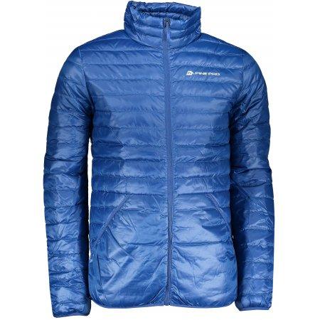 Pánská péřová bunda ALPINE PRO FIR MJCP359 MODRÁ