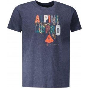Pánské triko ALPINE PRO ABIC 7 MTSP404 TMAVĚ MODRÁ