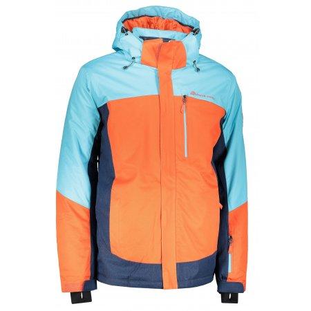 Pánská lyžařská bunda ALPINE PRO SARDAR 3 MJCP369 ORANŽOVÁ
