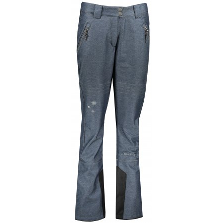 Dámské kalhoty ALPINE PRO KARIA 4 LPAP373 TMAVĚ MODRÁ