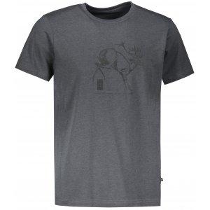 Pánské triko ALPINE PRO TIBERIO 8 MTSR474 TMAVĚ ŠEDÁ