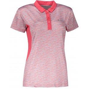 Dámské funkční triko s límečkem ALPINE PRO ISTASA 2 LTSR570 RŮŽOVÁ