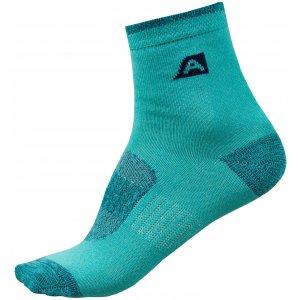 Dětské ponožky ALPINE PRO RAPID 2 KSCR014 ZELENÁ