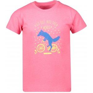 Dětské triko ALPINE PRO BRANTO 3 KTSR234 RŮŽOVÁ