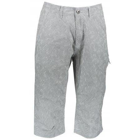 Pánské 3/4 kalhoty ALPINE PRO MACR MPAR423 BÍLÁ