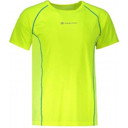 Pánské funkční triko ALPINE PRO LEON MTSR462 ŽLUTÁ