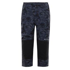 Pánské 3/4 kalhoty ALPINE PRO KADEK MPAR344 TMAVĚ ŠEDÁ