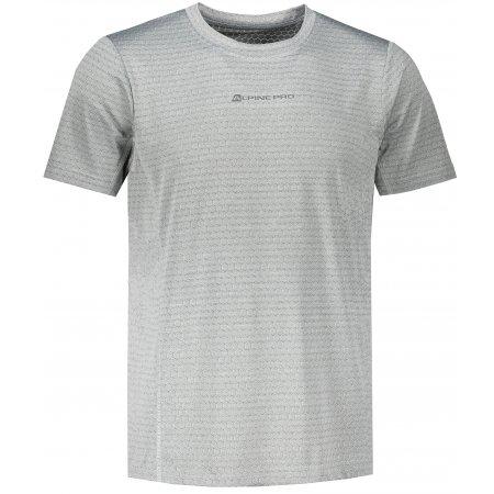 Pánské funkční triko ALPINE PRO DONMAT 2 MTSR465 ŠEDÁ