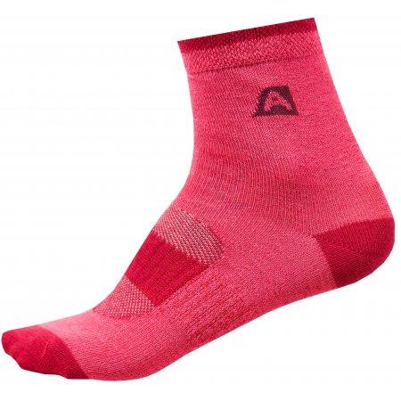 Dětské ponožky ALPINE PRO RAPID 2 KSCR014 FIALOVÁ