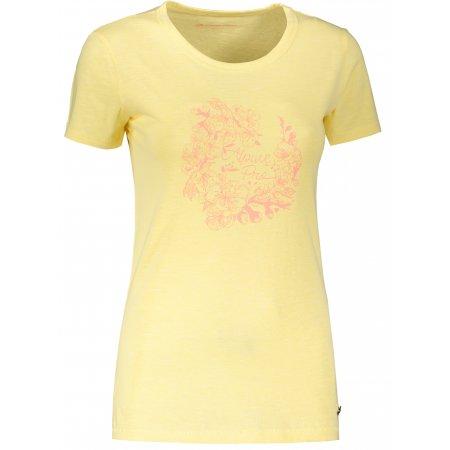 Dámské triko ALPINE PRO ROZENA 6 LTSR591 ŽLUTÁ