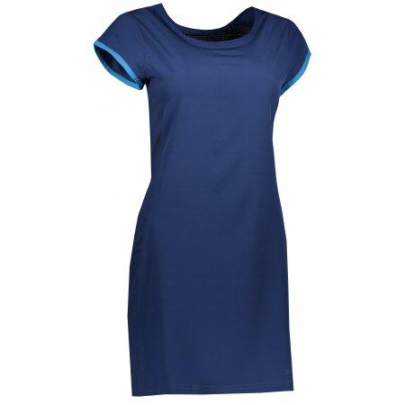 Dámské sportovní šaty ALPINE PRO OFKA 2 LSKR218 MODRÁ