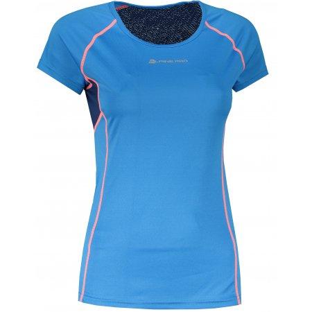 Dámské funkční triko ALPINE PRO LEONA LTSR578 MODRÁ