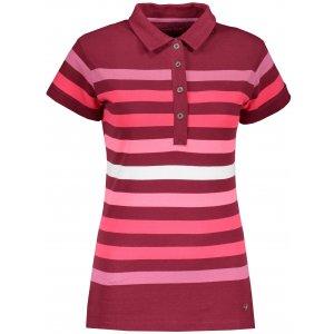 Dámské triko s límečkem ALPINE PRO BYLCA LTSR597 RŮŽOVÁ