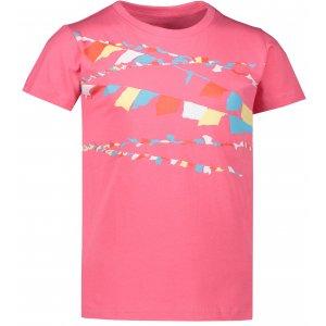 Dětské triko ALPINE PRO AXISO 3 KTSR238 RŮŽOVÁ