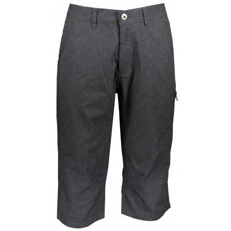 Pánské 3/4 kalhoty ALPINE PRO MACR MPAR423 TMAVĚ ŠEDÁ