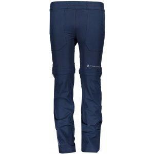 Dětské softshellové kalhoty/kraťasy ALPINE PRO PANTALEO 4 KPAR131 TMAVĚ MODRÁ
