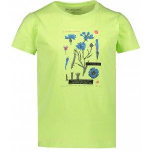 Dětské triko ALPINE PRO DAYO 3 KTSR237 ZELENÁ